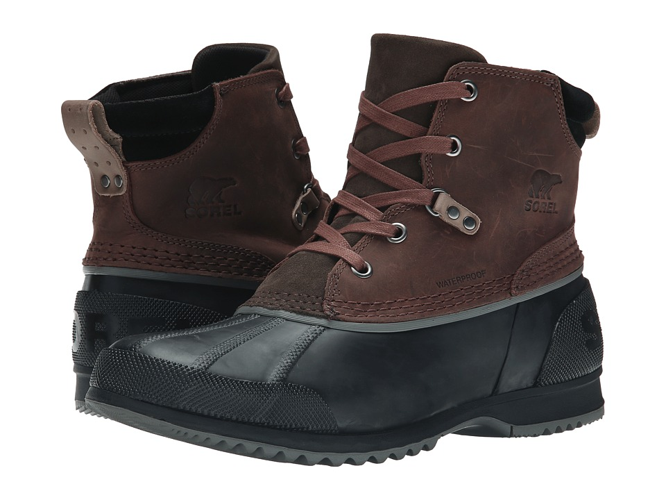 SOREL Ankeny Cordovan/Madder Brown Mens Boots