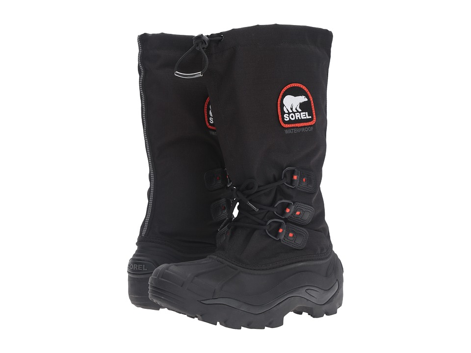 SOREL - Blizzardtm XT (Black/Red Quartz) Mens Cold Weather Boots