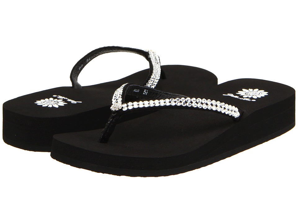 Yellow Box 1897670 Black Womens Sandals