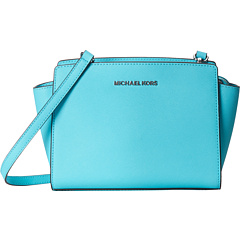 $82.08 MICHAEL Michael Kors Selma Medium Messenger On Sale @ 6PM.com