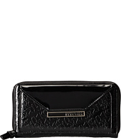Kenneth Cole Reaction - Urban Organizer - Zip Around Flap Clutch w/ PDA Pocket