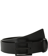 Calvin Klein - 35mm Flat Strap Smooth Semi-Shine Leather