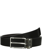 Calvin Klein - 32mm Reversible Flat Strap Spazz Leather To Smooth