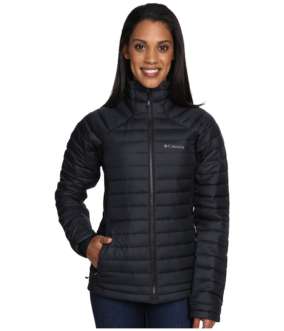 Columbia Gold 750 TurboDown Hybrid Jacket (Black) Women