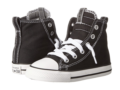 Converse Kids Chuck Taylor® All Star® Slip It Hi (Infant/Toddler) - Black/Thunder/White
