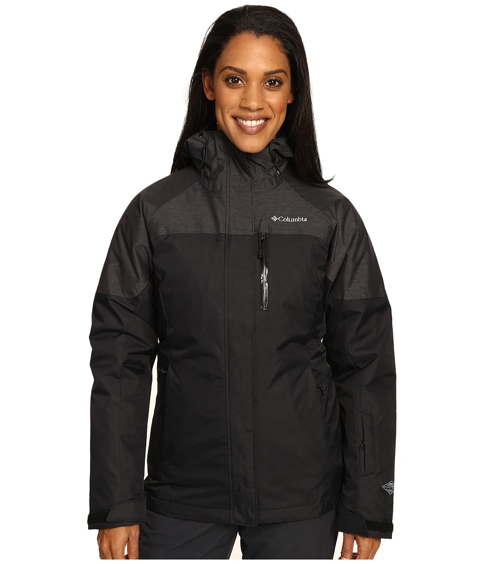 Columbia In Bounds 650 TurboDown Interchange Jacket (Black) Women
