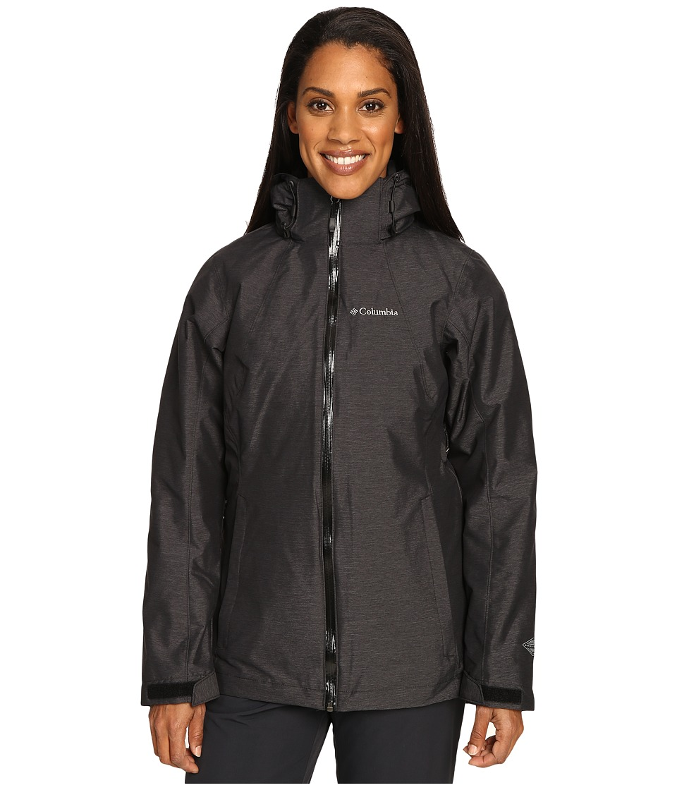 Columbia Whirlibirdtm Interchange Jacket (Black Cross-Dye...