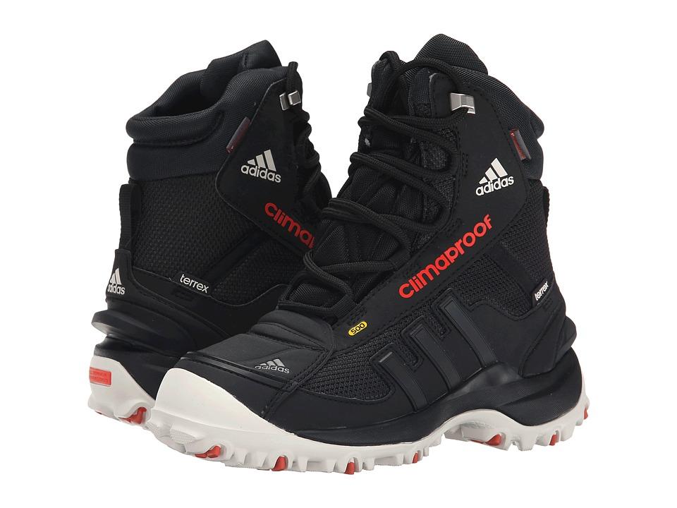 adidas Outdoor Kids Terrex Conrax CP CH Little Kid/Big Kid Black/Chalk White/Bold Orange Kids Shoes