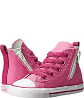 Converse Kids - Chuck Taylor® All Star® Side Zip Hi (Infant/Toddler)