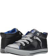 Converse Kids - Chuck Taylor® All Star® Leather Mix Street Mid (Little Kid/Big Kid)