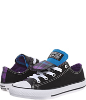 Converse Kids - Chuck Taylor® All Star® Plaid Double Tongue Ox (Little Kid/Big Kid)