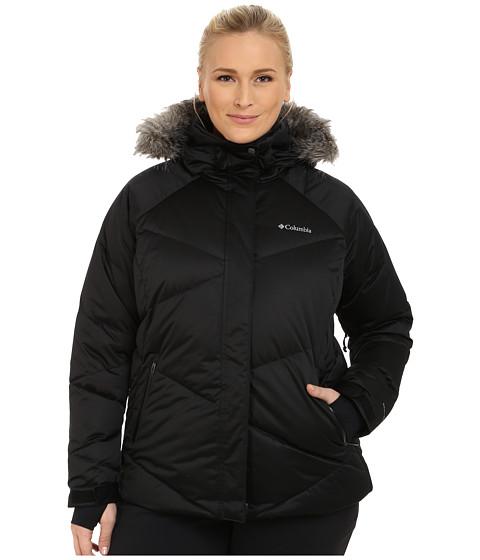 Columbia Plus Size Lay D Down™ Jacket - Black Satin