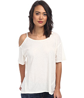 Free People - Cotton Linen Rib After Party Tee