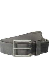 Calvin Klein - 38mm Flat Strap Smooth Matte Leather/Harness Buckle