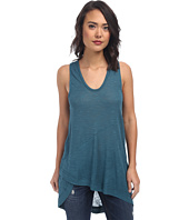 Free People - Nicest Slub Rib Washed Ashore Tank Top