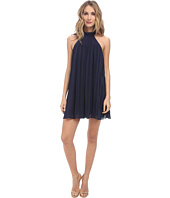 BCBGeneration - High Neck Dress with Pleats