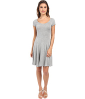 BCBGeneration - Fit and Flare Short Sleeve Dress