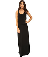 BCBGeneration - Maxi Dress with Contrast PU