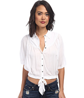 Free People - Solid Sheilas Rayon Drape and Tie Top
