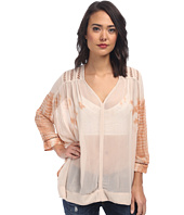 Free People - Tie-Dye Viscose Tie-Dye Me Down Top
