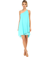Laundry by Shelli Segal - Draped Chiffon Cocktail Dress