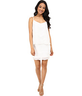 Laundry by Shelli Segal - Beaded Chiffon Pop Over Dress