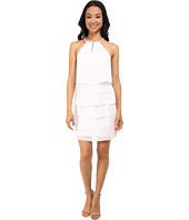 Laundry by Shelli Segal - Tiered Chiffon Cocktail Dress