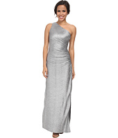 Laundry by Shelli Segal - Whirpool Foil Knit One Shoulder Gown
