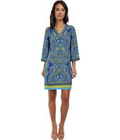 Laundry by Shelli Segal - Fancy Pantz Paisley Matte Jersey Dress