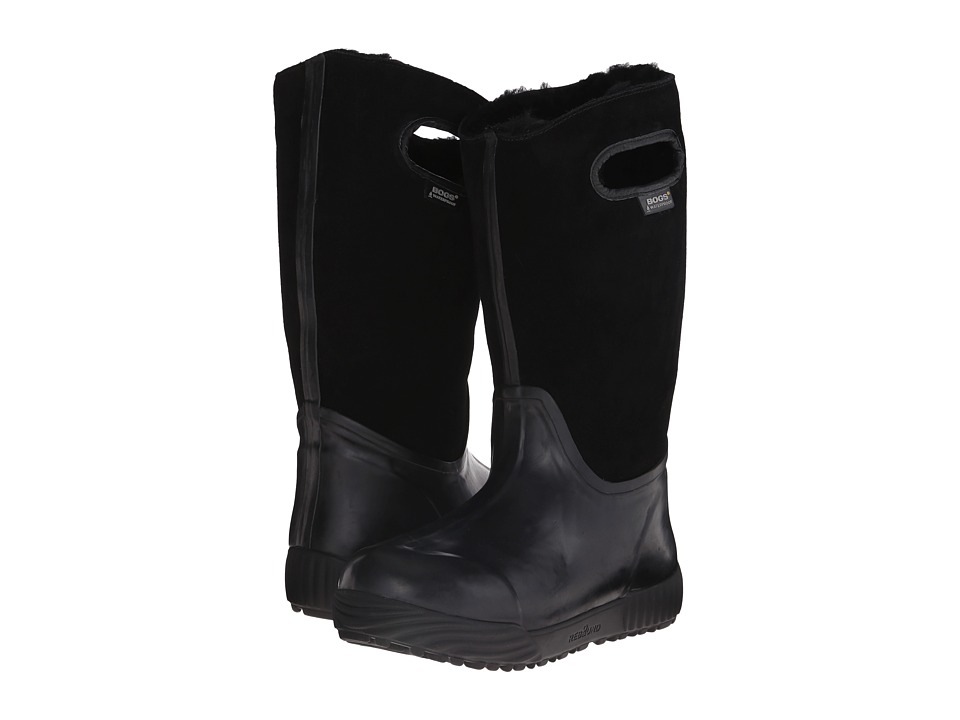Bogs - Prairie Tall (Black) Women