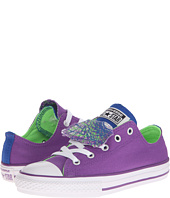 Converse Kids - Chuck Taylor® All Star® Color Sprial Double Tongue Ox (Little Kid/Big Kid)