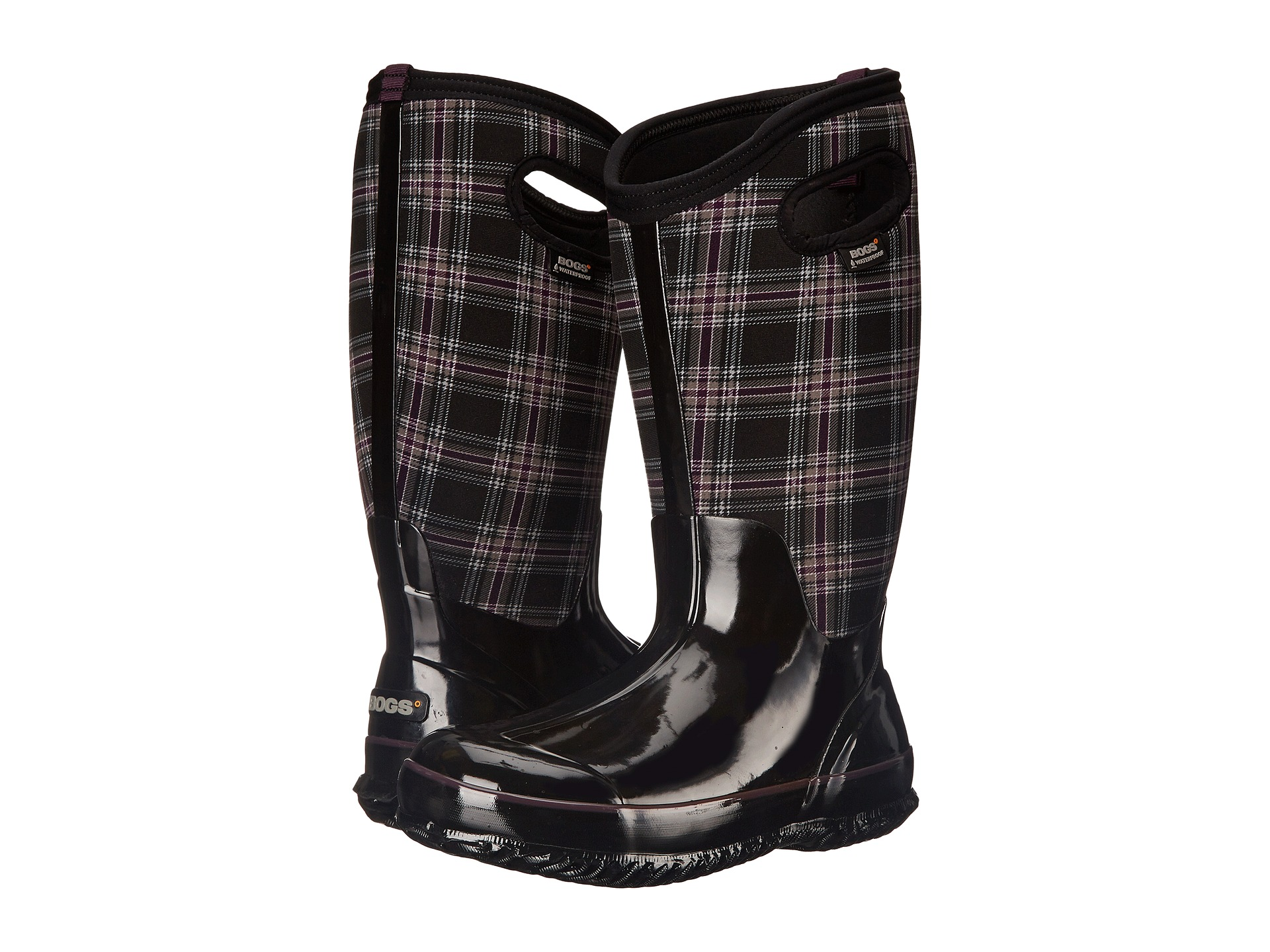 Bogs Classic Winter Plaid Tall Wide Calf Boot - 6pm.com