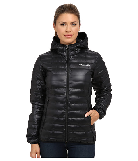 Columbia Flash Forward™ Hooded Down Jacket - Black
