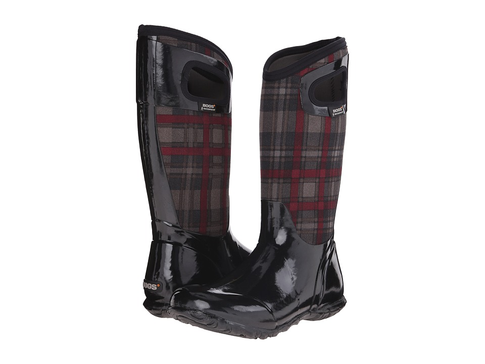 Bogs North Hampton Plaid (Black Multi) Women
