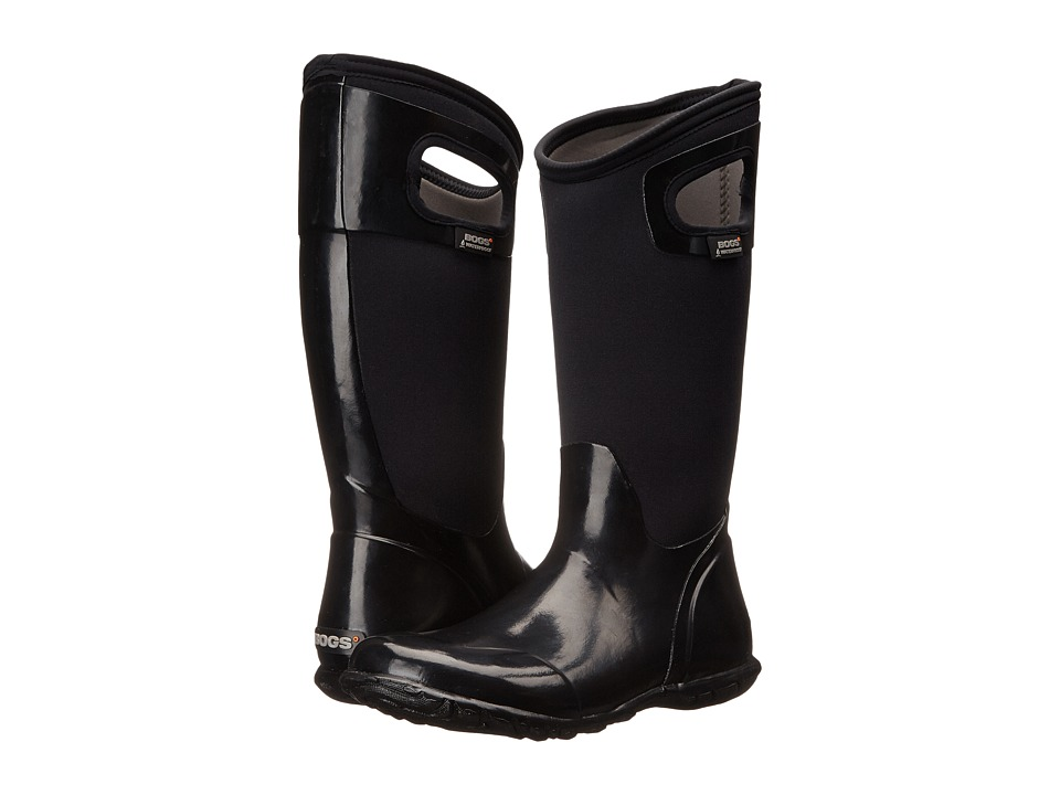 Bogs North Hampton Solid (Black) Women