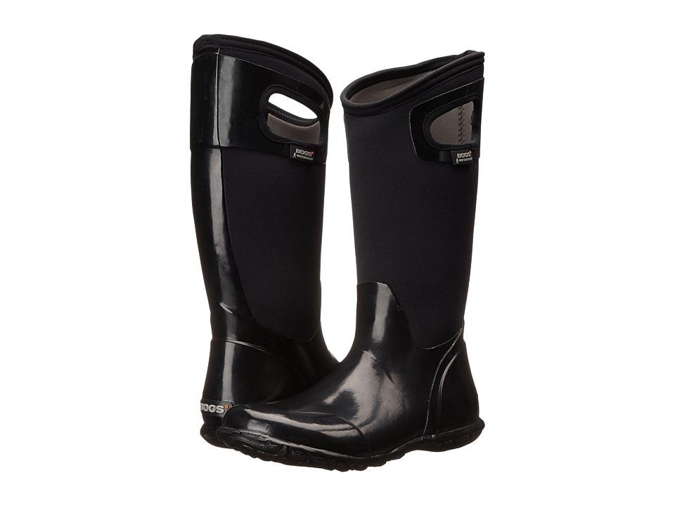 Bogs North Hampton Solid (Black) Women's Rain Boots