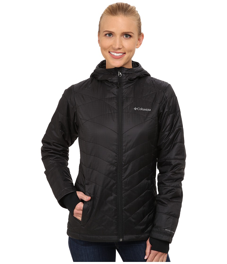 Columbia Mighty Litetm Hooded Plush Jacket (Black) Women