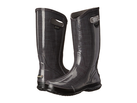 Bogs Linen Rainboot - Dark Gray