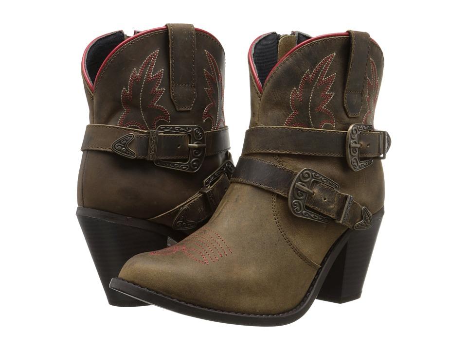 Dingo - Bridget (Taupe) Cowboy Boots