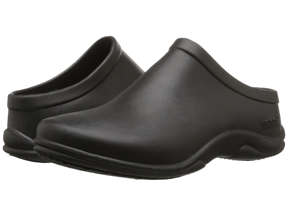 Bogs Stewart (Black) Slip-On Shoes