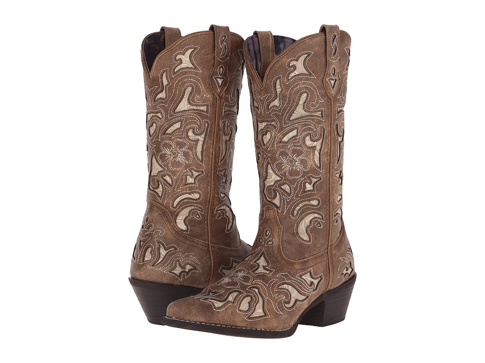 Laredo - Sharona (Tan Crackle) Cowboy Boots