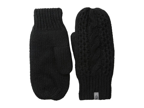 The North Face Cable Knit Mitt - TNF Black (Prior Season)