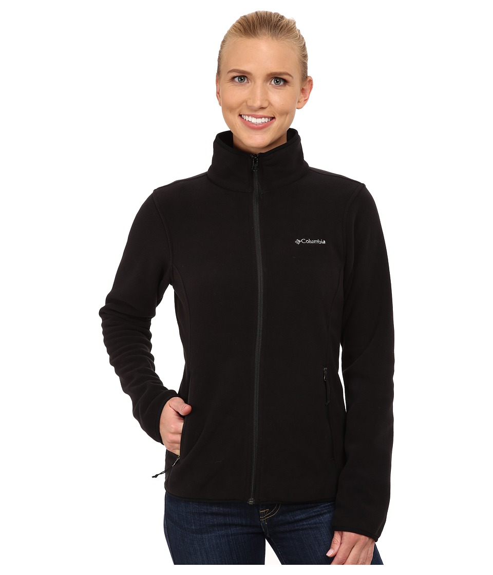 Columbia Fuller Ridge Fleece Jacket (Black) Women
