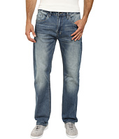 Buffalo David Bitton - Six Slim Straight Leg Jeans Morelia Stretch Fabric in Distressed/Worn