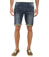 Buffalo David Bitton - Parker Fleece Denim Shorts in Lobini