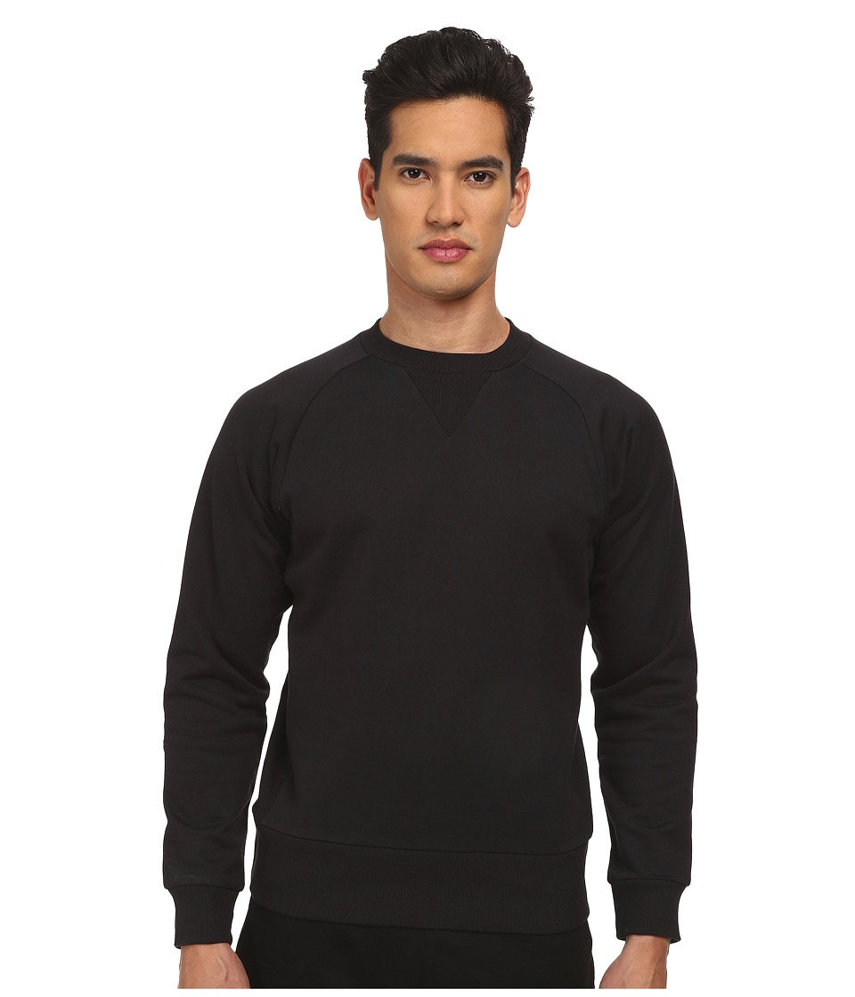 Image of adidas Y-3 by Yohji Yamamoto - Classic Sweat Top (Black) Men's Sweatshirt