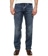 Buffalo David Bitton - Fred Easy Fit Fleece Jeans in Merkur Fabric in Worn & Dusty