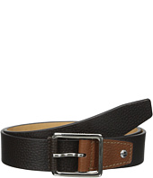 Cole Haan - 35mm Flat Stitch Strap Pebble Leather Pop Color Tab