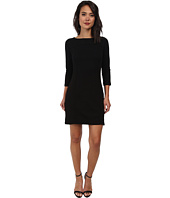 Three Dots - 3/4 Sleeve Dress w/ Side Slits