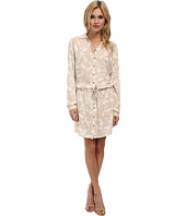 Three Dots - Long Sleeve Shirt Dress